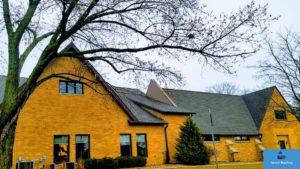 Asphalt singles roofing repair