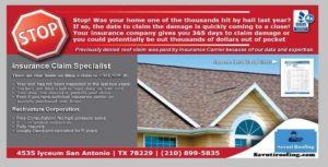 image of Insurance Claim emergency roofing