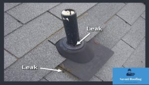 leaky roof repair or Identify San Antonio